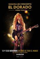 Shakira In Concert: El Dorado World Tour - Chilean Movie Poster (xs thumbnail)