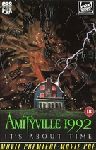 Amityville 1992: It's About Time - British VHS movie cover (xs thumbnail)