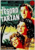 Tarzan's Secret Treasure - Spanish Movie Poster (xs thumbnail)
