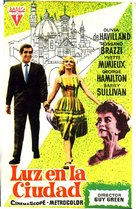 Light in the Piazza - Spanish Movie Poster (xs thumbnail)