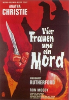 Murder Most Foul - German Movie Poster (xs thumbnail)