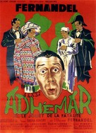 Adhèmar ou le jouet de la fatalitè - French Movie Poster (xs thumbnail)