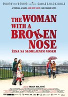 Zena sa slomljenim nosem - Swiss Movie Poster (xs thumbnail)