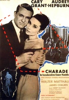 Charade - German Movie Poster (xs thumbnail)