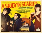 A Study in Scarlet - Movie Poster (xs thumbnail)