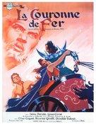 La corona di ferro - French Movie Poster (xs thumbnail)