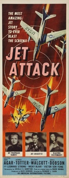 Jet Attack - Movie Poster (xs thumbnail)