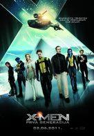X-Men: First Class - Croatian Movie Poster (xs thumbnail)