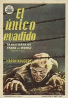 The One That Got Away - Spanish Movie Poster (xs thumbnail)