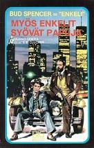Anche Gli Angeli Mangiano Fagioli - Finnish VHS movie cover (xs thumbnail)