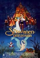 The Swan Princess - German Movie Poster (xs thumbnail)