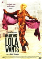 Whatever Lola Wants - Swedish Movie Poster (xs thumbnail)