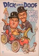 Dick und Doof, die Unzertrennlichen - German Movie Poster (xs thumbnail)