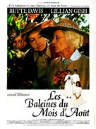 The Whales of August - French Movie Poster (xs thumbnail)