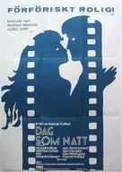 La nuit américaine - Swedish Movie Poster (xs thumbnail)