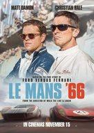 Ford v. Ferrari - British Movie Poster (xs thumbnail)