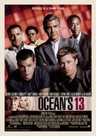 Ocean's Thirteen - Norwegian Movie Poster (xs thumbnail)
