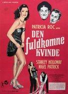 The Perfect Woman - Danish Movie Poster (xs thumbnail)