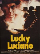 Lucky Luciano - French Movie Poster (xs thumbnail)
