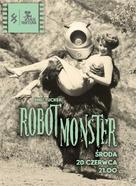 Robot Monster - Polish Movie Poster (xs thumbnail)