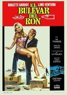 Boulevard du rhum - Spanish Movie Poster (xs thumbnail)