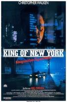 King of New York - German Movie Poster (xs thumbnail)