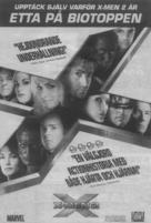 X2 - Swedish poster (xs thumbnail)