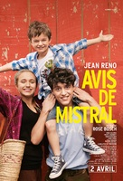 Avis de mistral - French Movie Poster (xs thumbnail)