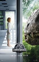 Jurassic World - French Movie Poster (xs thumbnail)