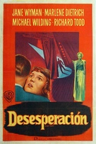 Stage Fright - Argentinian Movie Poster (xs thumbnail)