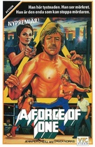A Force of One - Swedish VHS movie cover (xs thumbnail)
