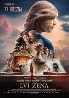Løvekvinnen - Czech Movie Poster (xs thumbnail)