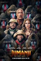 Jumanji: The Next Level - Dutch Movie Poster (xs thumbnail)
