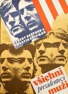All the President's Men - Czech Movie Poster (xs thumbnail)