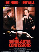 True Confessions - French Movie Poster (xs thumbnail)
