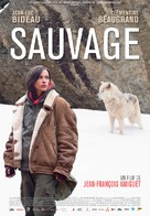 Sauvage - French Movie Poster (xs thumbnail)