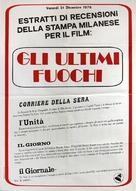 The Last Tycoon - Italian Movie Poster (xs thumbnail)