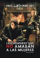 Män som hatar kvinnor - Argentinian Movie Cover (xs thumbnail)
