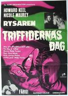 The Day of the Triffids - Swedish Movie Poster (xs thumbnail)