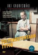Tulitikkutehtaan tyttö - Finnish DVD cover (xs thumbnail)