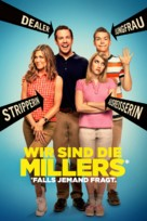 We're the Millers - German Movie Cover (xs thumbnail)