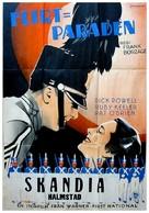 Flirtation Walk - Swedish Movie Poster (xs thumbnail)