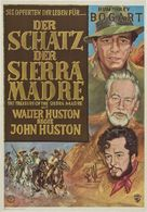 The Treasure of the Sierra Madre - German Movie Poster (xs thumbnail)