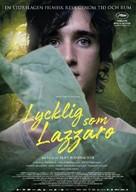 Lazzaro felice - Swedish Movie Poster (xs thumbnail)