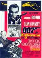 Goldfinger - Finnish Movie Poster (xs thumbnail)