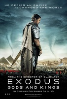 Exodus: Gods and Kings - British Movie Poster (xs thumbnail)