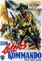 They Died with Their Boots On - German Movie Poster (xs thumbnail)