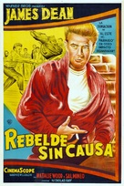 Rebel Without a Cause - Argentinian Movie Poster (xs thumbnail)