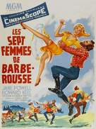 Seven Brides for Seven Brothers - French Movie Poster (xs thumbnail)