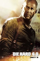 Live Free or Die Hard - Irish Movie Poster (xs thumbnail)